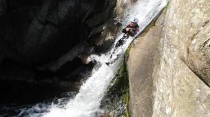 Canyoning-Ardèche-Aerocanyon Ad' dans les Gorges de la Besorgues en Ardèche-3