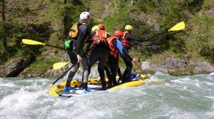 Stand up Paddle-Salzburg-Supsquatch auf der Salzach, Österreich-1