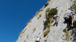 Escalada-Verdon Gorge-Climbing for beginners in Verdon Gorge, France-4