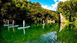 Stand up Paddle-Bovec-Einzigartige SUP-Tour im Soca-Tal, Slowenien-1