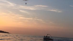 Parachute ascensionnel-Bastia-Parachute ascensionnel dans le golfe de Saint Florent, Haute Corse-3