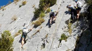 Escalada-Verdon Gorge-Climbing for beginners in Verdon Gorge, France-5