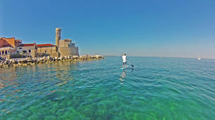 Stand up Paddle-Piran-Einzigartige Seaside SUP Tour in Piran, Slowenien-1