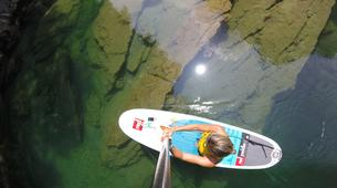 Stand up Paddle-Bovec-Einzigartige SUP-Tour im Soca-Tal, Slowenien-6