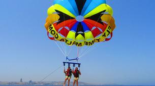 Parachute ascensionnel-Malte-Parasailing flight in Malta-1