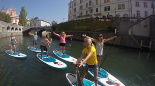 Stand up Paddle-Ljubljana-Urban Adventure SUP Tour in Ljubljana, Slovenia-6