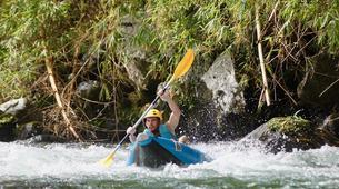 Canoë-kayak-Hautes-Pyrénées-Descente en Kayak sur le Gave de Pau, Hautes Pyrénées-2
