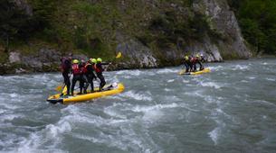 Stand up Paddle-Salzburg-Supsquatch auf der Salzach, Österreich-4