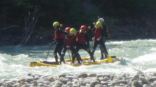 Stand up Paddle-Salzburg-Supsquatch auf der Salzach, Österreich-10