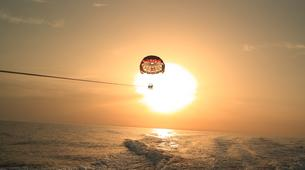 Parachute ascensionnel-Bastia-Parachute ascensionnel dans le golfe de Saint Florent, Haute Corse-5