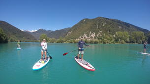 Stand up Paddle-Bovec-Einzigartige SUP-Tour im Soca-Tal, Slowenien-3