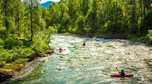 Canoë-kayak-Voss-River Kayaking Courses Beginner to Intermediate, in Voss-2