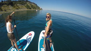 Stand up Paddle-Piran-Einzigartige Seaside SUP Tour in Piran, Slowenien-2