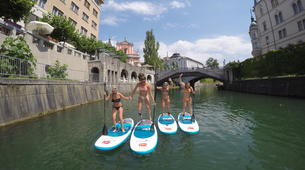 Stand up Paddle-Ljubljana-Urban Adventure SUP Tour in Ljubljana, Slovenia-3