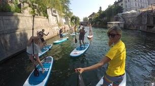 Stand up Paddle-Ljubljana-Urban Adventure SUP Tour in Ljubljana, Slovenia-5