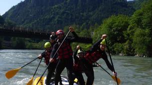 Stand up Paddle-Salzburg-Supsquatch auf der Salzach, Österreich-13