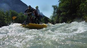 Stand up Paddle-Salzburg-Supsquatch auf der Salzach, Österreich-2