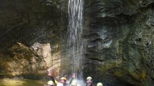 Canyoning-Salzbourg-Tour de canyoning à l'Almbachklamm près de Salzbourg-4