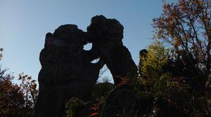 VTT-Ardèche-Randonnée VTT dans les Bois de Païolive, Ardèche-6