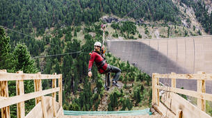Zipline-Zillertal-Flying Fox Zipline entlang des Schlegeis Damms-5