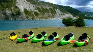 Canoë-kayak-Gorges du Verdon-Location Canoë-Kayak sur le Lac de Castillon, près de Castellane-5