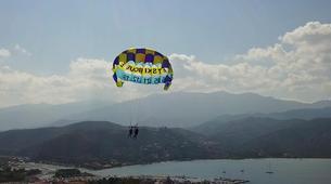 Parachute ascensionnel-Bastia-Parachute ascensionnel dans le golfe de Saint Florent, Haute Corse-1