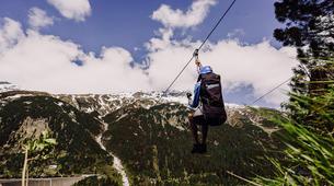 Zipline-Zillertal-Flying Fox Zipline entlang des Schlegeis Damms-2