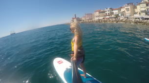 Stand up Paddle-Piran-Einzigartige Seaside SUP Tour in Piran, Slowenien-3