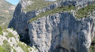 Escalada-Verdon Gorge-Climbing the Vallon de la Carleva in Verdon Gorge, France-4