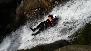Canyoning-Ardèche-Aerocanyon Ad' dans les Gorges de la Besorgues en Ardèche-1