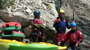 Canoë-kayak-Gorges du Verdon-Location Canoë-Kayak sur le Lac de Castillon, près de Castellane-3
