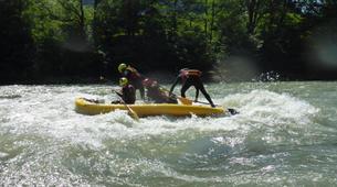 Stand up Paddle-Salzburg-Supsquatch auf der Salzach, Österreich-9