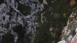 Escalada-Verdon Gorge-Climbing the Vallon de la Carleva in Verdon Gorge, France-6