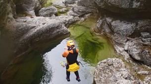 Canyoning-Salzbourg-Tour de canyoning à l'Almbachklamm près de Salzbourg-2