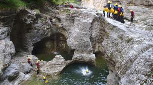 Canyoning-Salzbourg-Tour de canyoning à l'Almbachklamm près de Salzbourg-1