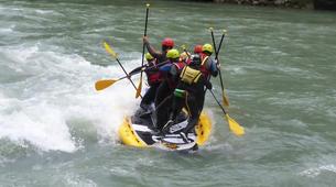 Stand up Paddle-Salzburg-Supsquatch auf der Salzach, Österreich-3