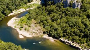 VTT-Ardèche-Randonnée VTT dans les Bois de Païolive, Ardèche-5