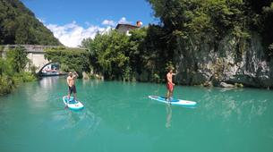 Stand up Paddle-Bovec-Einzigartige SUP-Tour im Soca-Tal, Slowenien-5