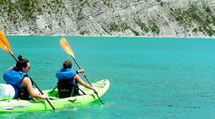 Canoë-kayak-Gorges du Verdon-Location Canoë-Kayak sur le Lac de Castillon, près de Castellane-2