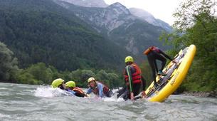 Stand up Paddle-Salzburg-Supsquatch auf der Salzach, Österreich-5