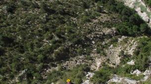 Escalada-Verdon Gorge-Climbing the Vallon de la Carleva in Verdon Gorge, France-5
