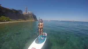 Stand up Paddle-Piran-Einzigartige Seaside SUP Tour in Piran, Slowenien-4