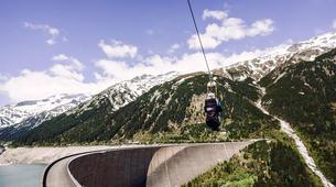 Zipline-Zillertal-Flying Fox Zipline entlang des Schlegeis Damms-4