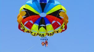 Parachute ascensionnel-Malte-Parasailing flight in Malta-4