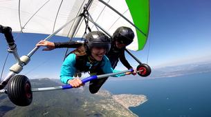 Hang gliding-Lake Garda-Tandem Hang Gliding Flight over Lake Garda-1