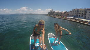 Stand up Paddle-Piran-Einzigartige Seaside SUP Tour in Piran, Slowenien-6