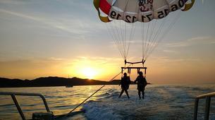 Parachute ascensionnel-Bastia-Parachute ascensionnel dans le golfe de Saint Florent, Haute Corse-4