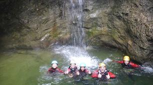 Canyoning-Salzbourg-Tour de canyoning à l'Almbachklamm près de Salzbourg-5