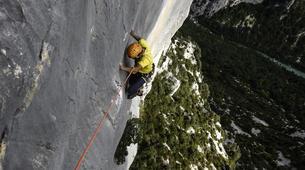 Escalada-Verdon Gorge-Climbing the Vallon de la Carleva in Verdon Gorge, France-1