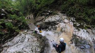 Canyoning-Valjevo-Canyoning in the Tribuca Canyon, near Valjevo-1